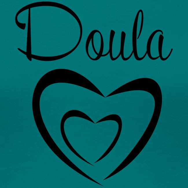 doula sydämet isolla