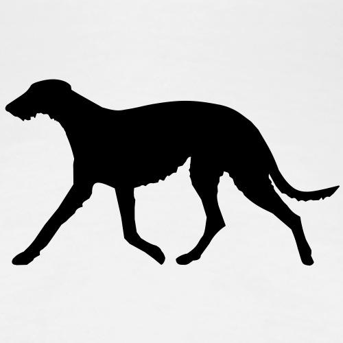 deerhound_laeuft - Frauen Premium T-Shirt