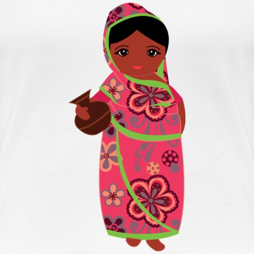 Lovedesh Art - Ira Kolshi Doll - Women's Premium T-Shirt