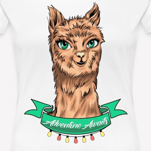 Alpaka Adventure - Frauen Premium T-Shirt