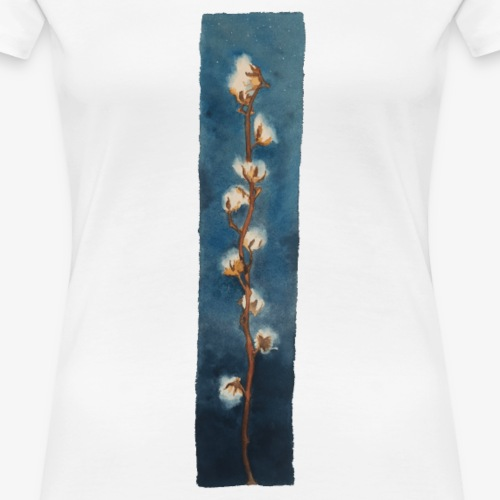Cotton flowers - Women's Premium T-Shirt