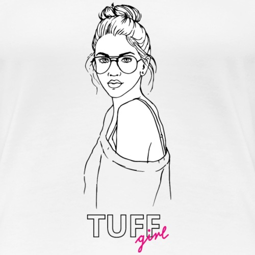 tuffgirl girl1 - Frauen Premium T-Shirt
