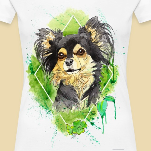Chihuahuadesign Bailey - Frauen Premium T-Shirt