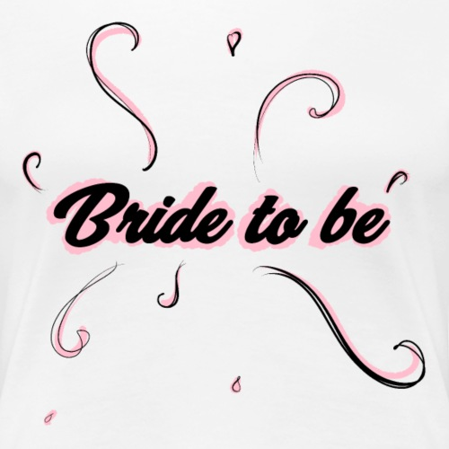 Bride to be pink