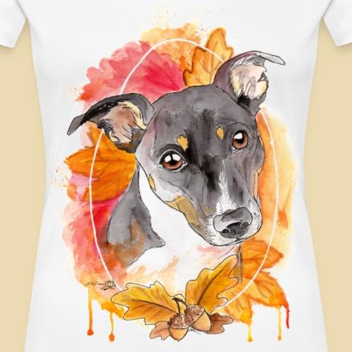Jack Russel Abby - Frauen Premium T-Shirt