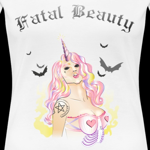 Beauté fatale II - T-shirt Premium Femme