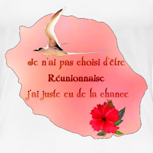 carte réunionnaise - T-shirt Premium Femme