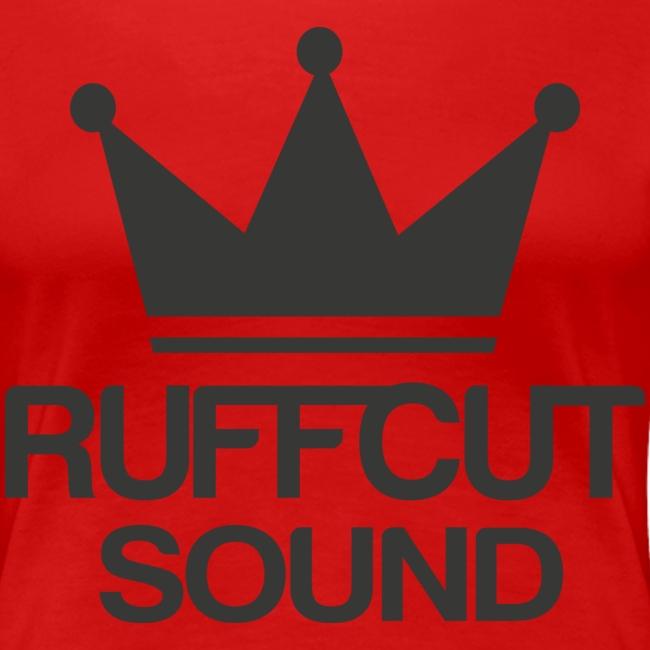 Tshirt Ruffcut Black png