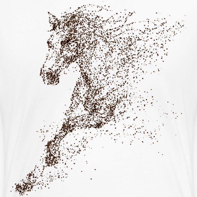 Vorschau: Pixel Horse brown - Frauen Premium T-Shirt