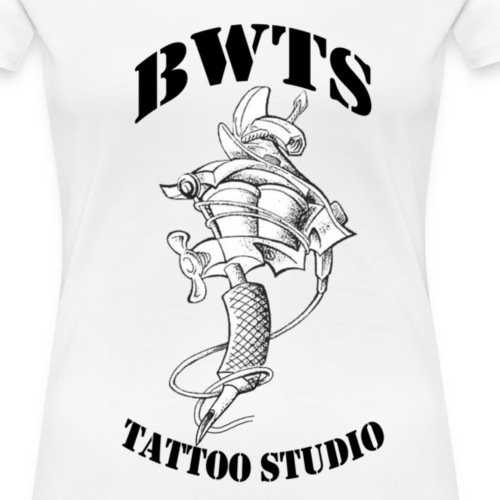 bwtslogoblack - Frauen Premium T-Shirt