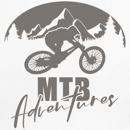MTB Adventures - Frauen Premium T-Shirt