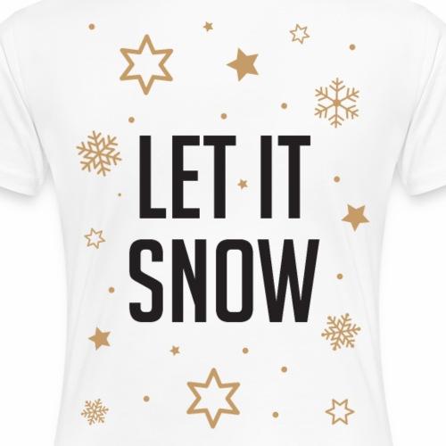 Let it Snow - Maglietta Premium da donna