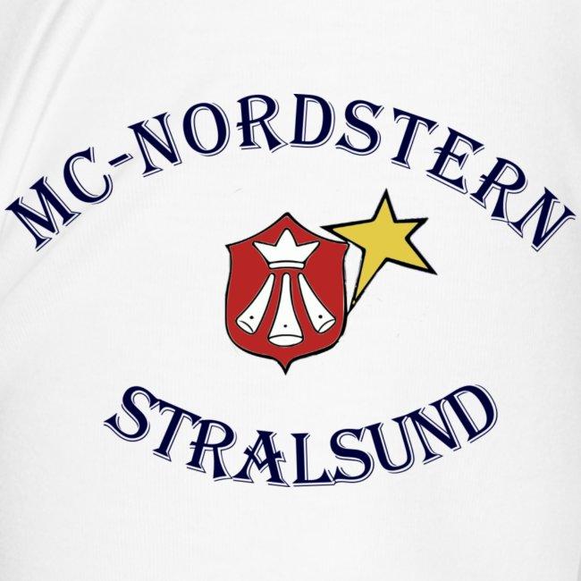 MC Nordstern Schrift gebogen