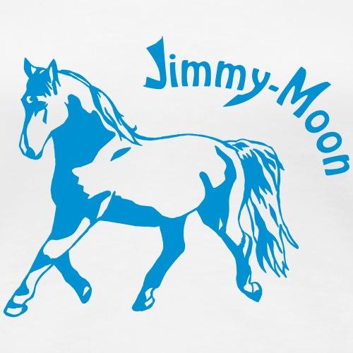 Jimmy on Text - Frauen Premium T-Shirt