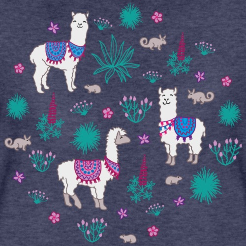 Llama and friends - Frauen Premium T-Shirt