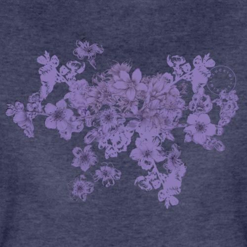 Lila bukett - Dam - Premium-T-shirt dam