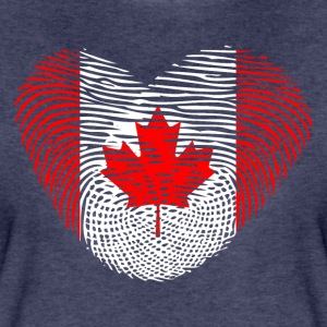 Fingerprint Heart DNA Canada Canada - Women's Premium T-Shirt