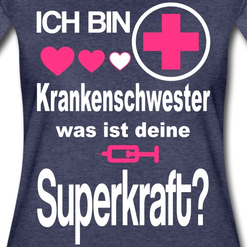 Krankenschwester Superkraft - Frauen Premium T-Shirt
