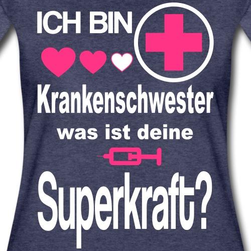 Krankenschwester Superkraft - Women's Premium T-Shirt