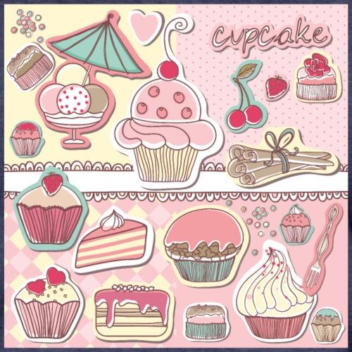 cupcakes - Frauen Premium T-Shirt