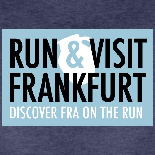 Run Visit Frankfurt Tours - Frauen Premium T-Shirt
