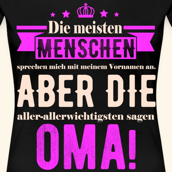 Lustige Familien T Shirts Oma Geschenk Für Muttertag Geburtstag