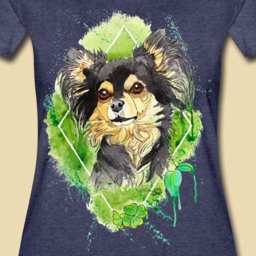 Chihuahuadesign Bailey - Frauen Premium T-Shirt