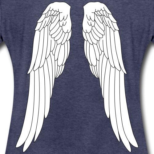 Engel Flügel Angel Elfe Fee Weihnachten Halloween - Women's Premium T-Shirt