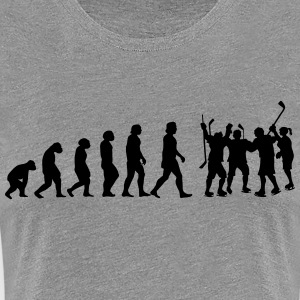 evolution hockey - Frauen Premium T-Shirt