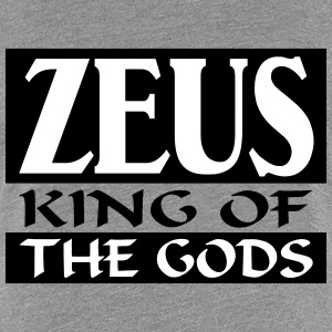 Zeus _-_ King_Of_The_Gods - Vrouwen Premium T-shirt