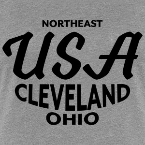 Northeast USA Cleveland Ohio - CLEVELAND SHIRTS - Frauen Premium T-Shirt
