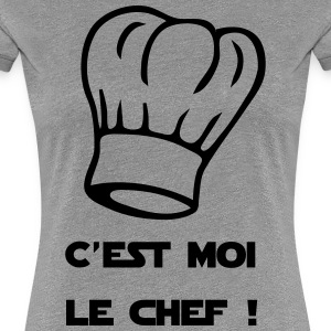 I am the chef ! Chef's Hat - Women's Premium T-Shirt
