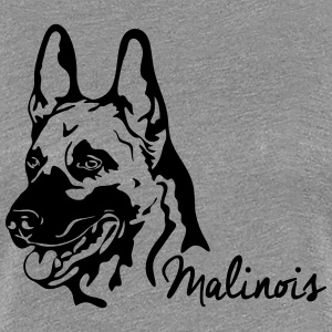 MALINOIS PORTRAIT - Women's Premium T-Shirt