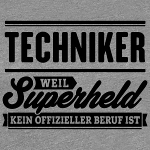 Superheld Techniker - Frauen Premium T-Shirt