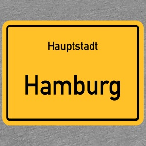 capital Hamburg - Women's Premium T-Shirt