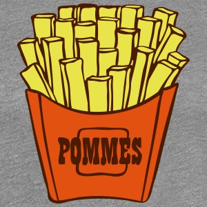 French fries - Women's Premium T-Shirt