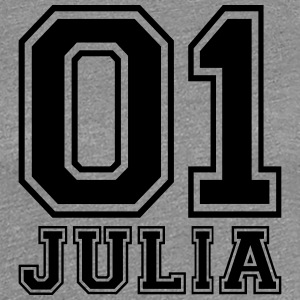 Julia - Name - Frauen Premium T-Shirt