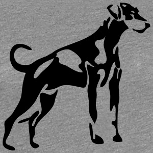 Dobermann - Frauen Premium T-Shirt
