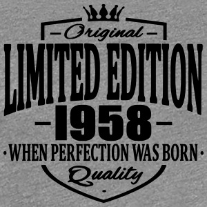 Limited edition 1958 - Frauen Premium T-Shirt