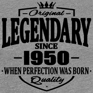 Legendary sedan 1950 - Premium-T-shirt dam