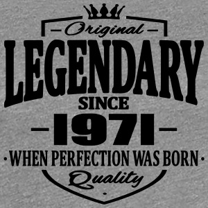 Legendary sedan 1971 - Premium-T-shirt dam