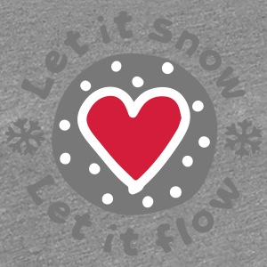 Let_It_Snow - Women's Premium T-Shirt