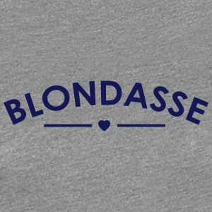 blonde - Women's Premium T-Shirt