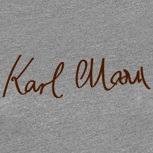 Signature of Karl Marx - Women's Premium T-Shirt