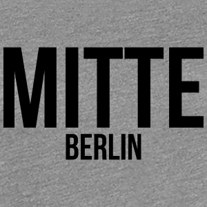BERLIN CENTER - Premium T-skjorte for kvinner