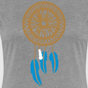 LUCKY INDIAN - Vrouwen Premium T-shirt