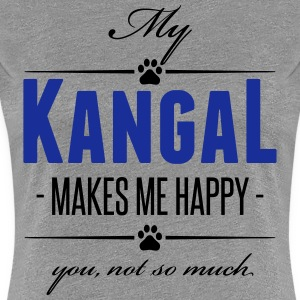 My Kangal makes me happy - Frauen Premium T-Shirt