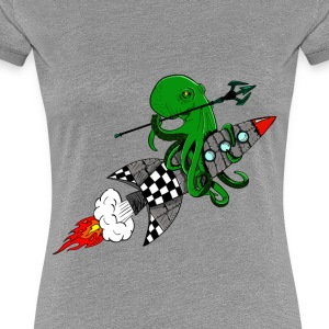 squid warrior - Women's Premium T-Shirt