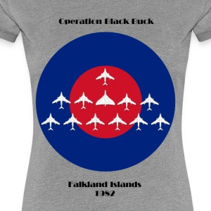 Vulcan Bomber - Operation Blackbuck ontwerp - Vrouwen Premium T-shirt