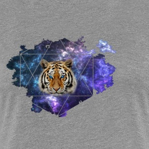 Galaxy Tiger - Frauen Premium T-Shirt